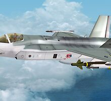 Lockheed Martin F-35 Lightning  by Walter Colvin