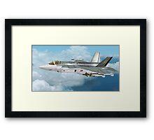 Lockheed Martin F-35 Lightning  Framed Print