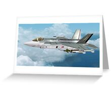 Lockheed Martin F-35 Lightning  Greeting Card