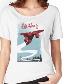 Big Hero 6,Baymax Women's Relaxed Fit T-Shirt