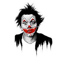 Sad Clown Photographic Print