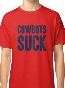 New York Giants - Dallas Cowboys suck - blue Classic T-Shirt