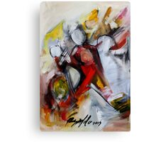 Dancing Queen of the Silver Screen Canvas Print