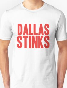 New York Giants - Dallas stinks - red T-Shirt