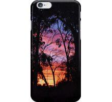 Sunset Silhouette 02 iPhone Case/Skin