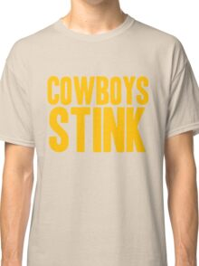 Washington Redskins - Cowboys stink - gold Classic T-Shirt