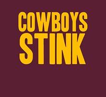 Washington Redskins - Cowboys stink - gold Unisex T-Shirt