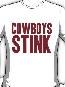 Washington Redskins - Cowboys stink - red T-Shirt