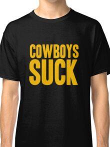 Washington Redskins - Cowboys suck - gold Classic T-Shirt
