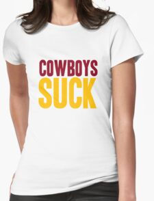 Washington Redskins - Cowboys suck - mix Womens Fitted T-Shirt