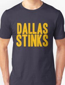 Washington Redskins - Dallas stinks - gold T-Shirt
