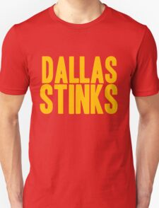Washington Redskins - Dallas stinks - gold T-Shirt