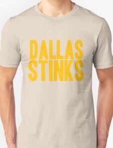 Washington Redskins - Dallas stinks - gold Unisex T-Shirt