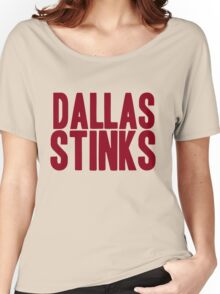 Washington Redskins - Dallas stinks - red Women's Relaxed Fit T-Shirt