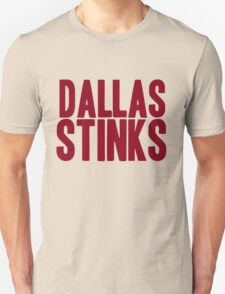 Washington Redskins - Dallas stinks - red Unisex T-Shirt