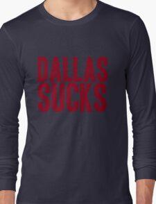 Washington Redskins - Dallas sucks - red Long Sleeve T-Shirt