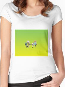 Great Day For A Picnic Women's Fitted Scoop T-Shirt