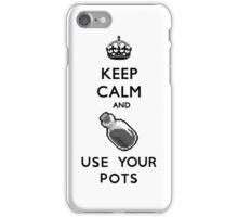 Keep Calm and Use Your Pots iPhone Case/Skin