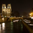 Below Notre Dame by Mike Stone