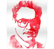 rdj in red Poster