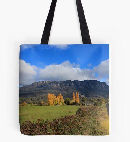 Mt Roland in Autumn Tote Bag
