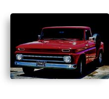 1965 Chevy Pick-Up Canvas Print