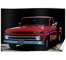 1965 Chevy Pick-Up Poster
