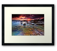 Beneath the Surface # 2  Framed Print