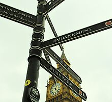 Directions to Big Ben by Emily McAuliffe