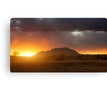 Sunset Burn Canvas Print
