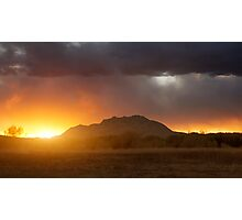 Sunset Burn Photographic Print