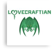 Lovecraftian Canvas Print