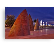 """Twilight At The Sails"" Canvas Print"
