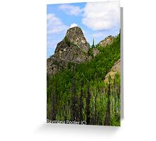 Hiking in Alaskas outback Greeting Card