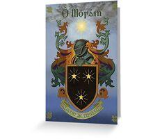 Moran Coat of Arms Greeting Card