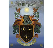 Moran Coat of Arms Photographic Print