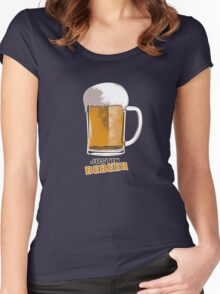 Justin Bebeer Women's Fitted Scoop T-Shirt