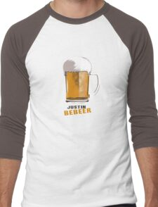 Justin Bebeer Men's Baseball ¾ T-Shirt