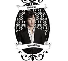 I believe in Sherlock Holmes by cartoonmotioned