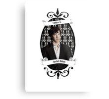 I believe in Sherlock Holmes Metal Print