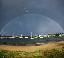 Belmore Basin Rainbows by 16images