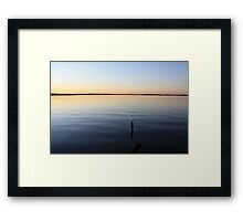 It's a small world, you know Framed Print