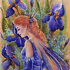 Iris Fairy by Renee Lavoie