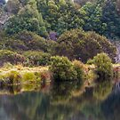 Reflections near cradle lodge by bluetaipan