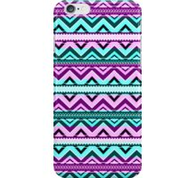 Mix #123 - Purple And Blue Aztec Pattern iPhone Case/Skin