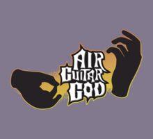 Air Guitar God Kids Tee