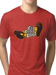 Air Guitar God Tri-blend T-Shirt