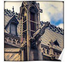 Notre Dame Impression 2 Poster