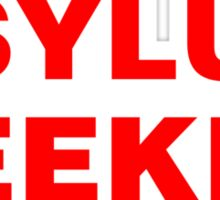 Asylum Seeker Sticker