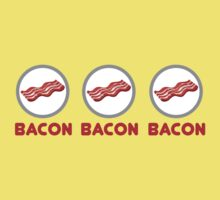 Bacon Bacon Bacon Kids Tee